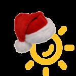 Logo with Santa Hat